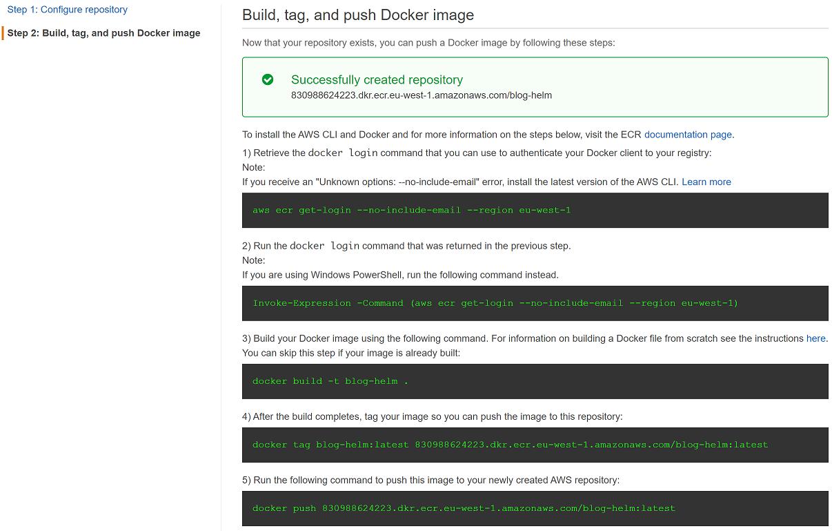 Using AWS ECR as a Docker registry | ngeor com