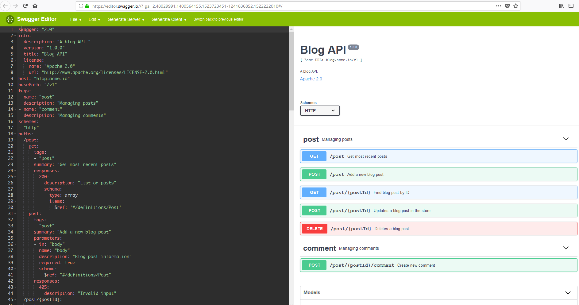 Building a REST API with Swagger and Spring Boot | ngeor com